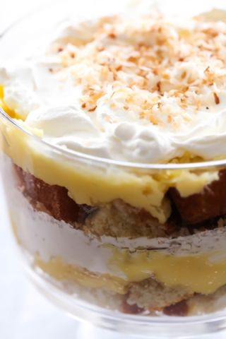 Coconut Cream Pie Trifle image